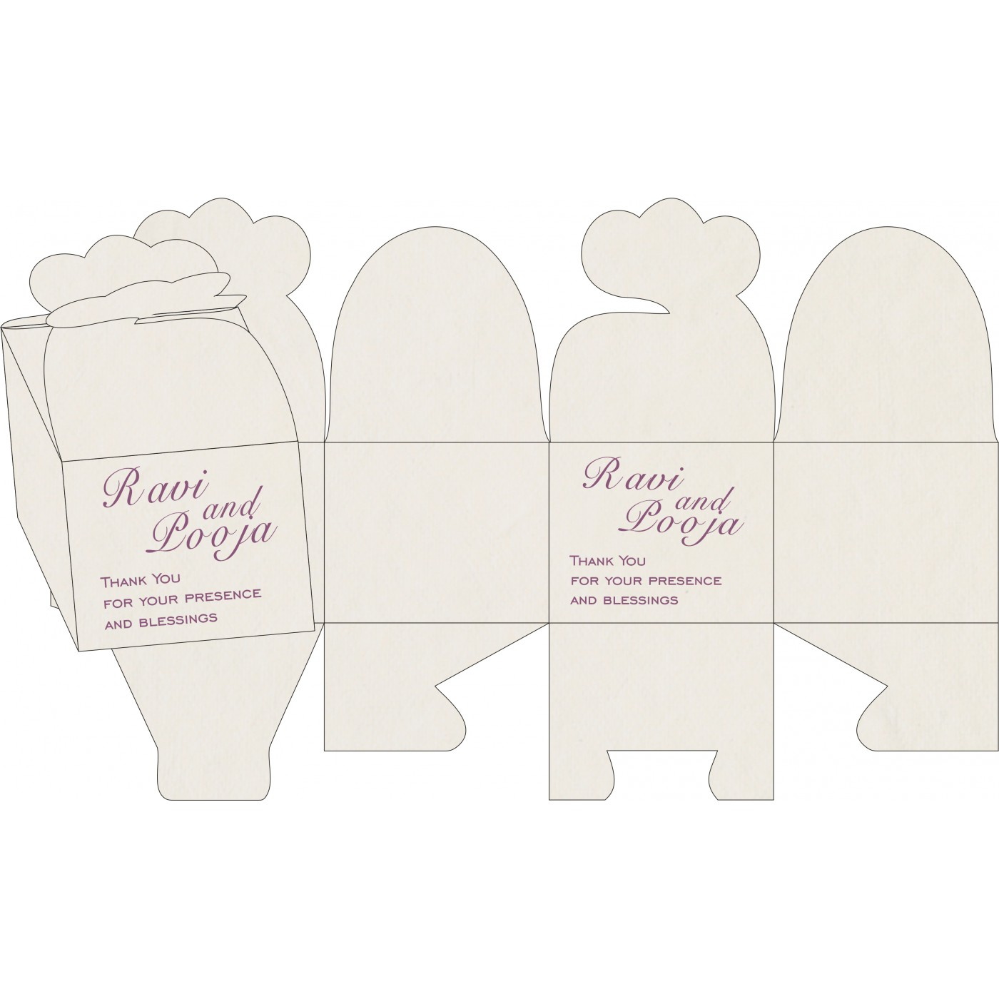 Sweet Boxes : CSB-8234D - IndianWeddingCards