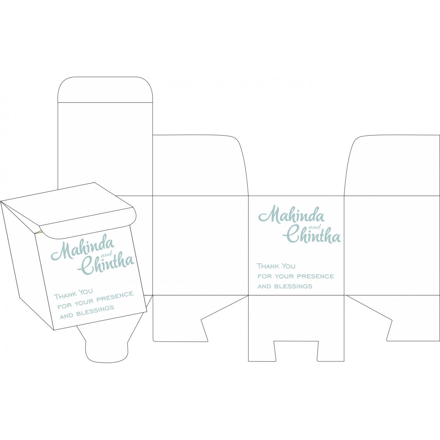 Sweet Boxes : CSB-8234E - IndianWeddingCards