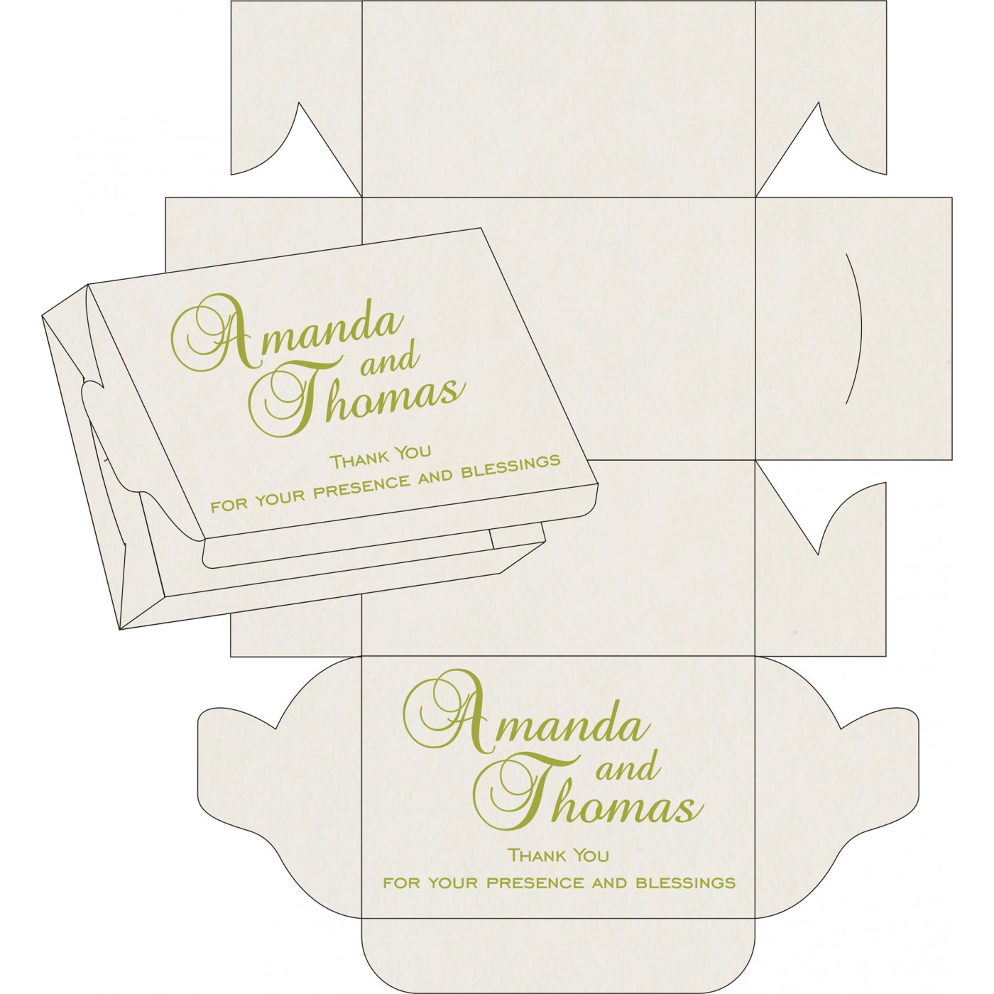 Sweet Boxes : CSB-8234H - IndianWeddingCards