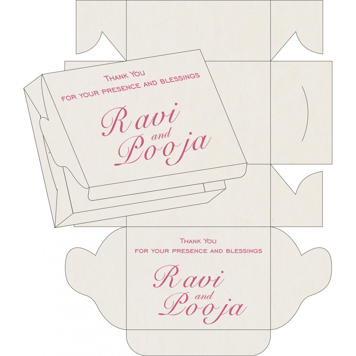 Sweet Boxes : CSB-8234I - IndianWeddingCards