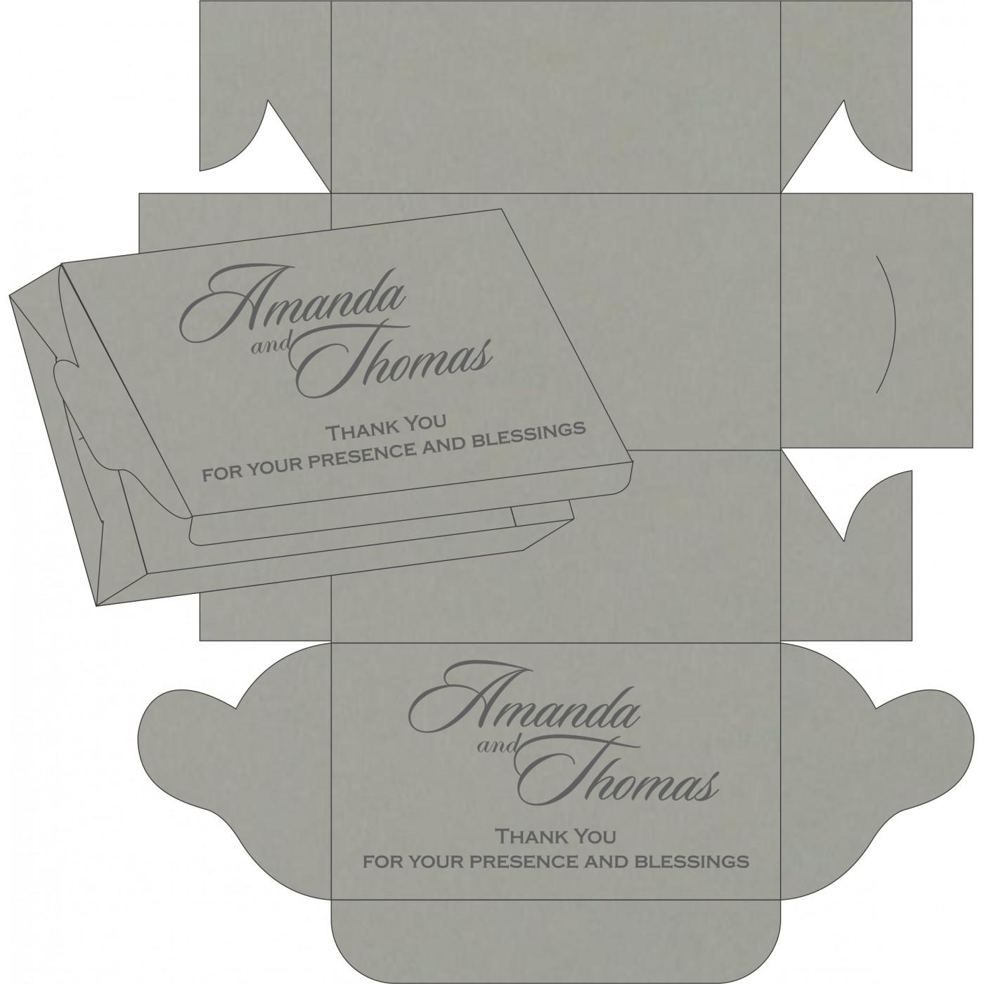 Sweet Boxes : CSB-8235I - IndianWeddingCards