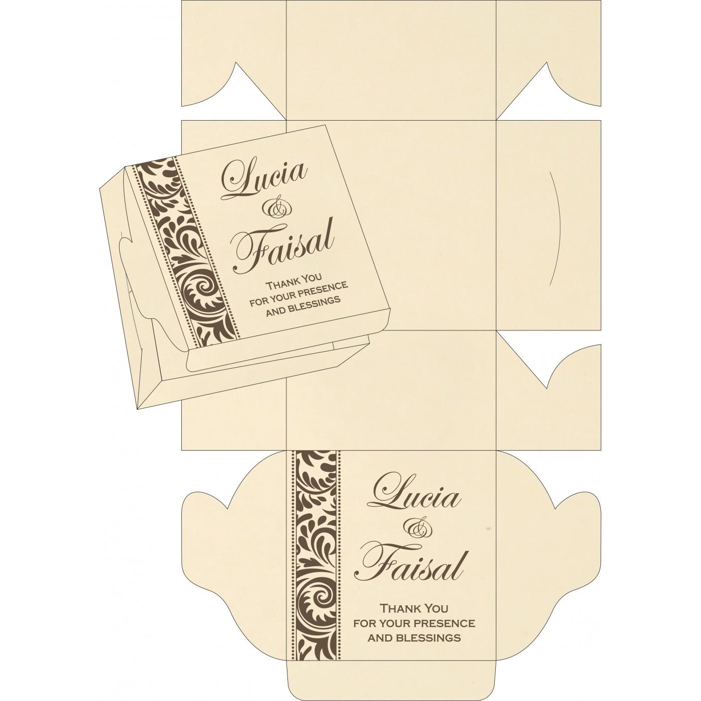 Sweet Boxes : CSB-8235K - IndianWeddingCards