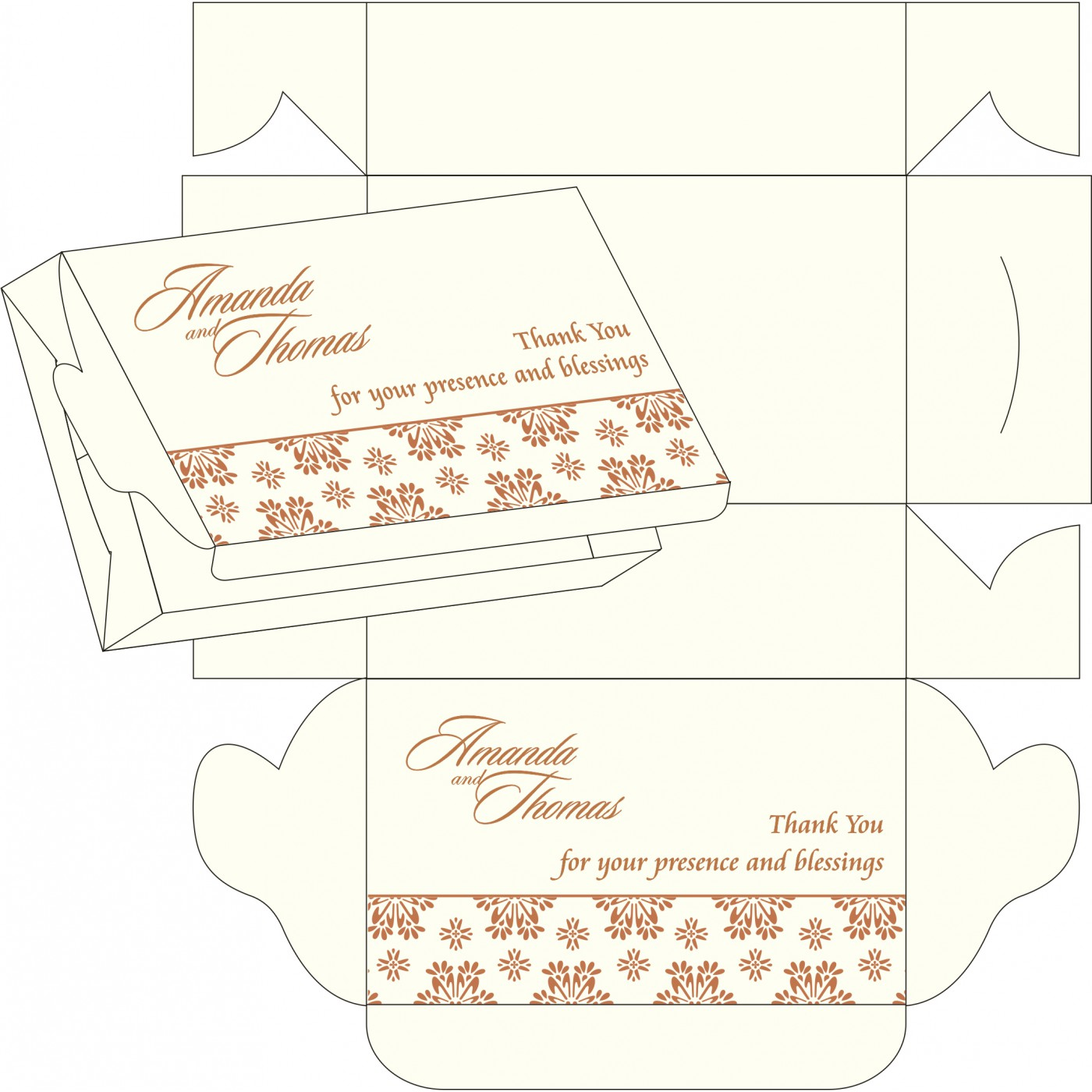 Sweet Boxes : CSB-8237J - IndianWeddingCards