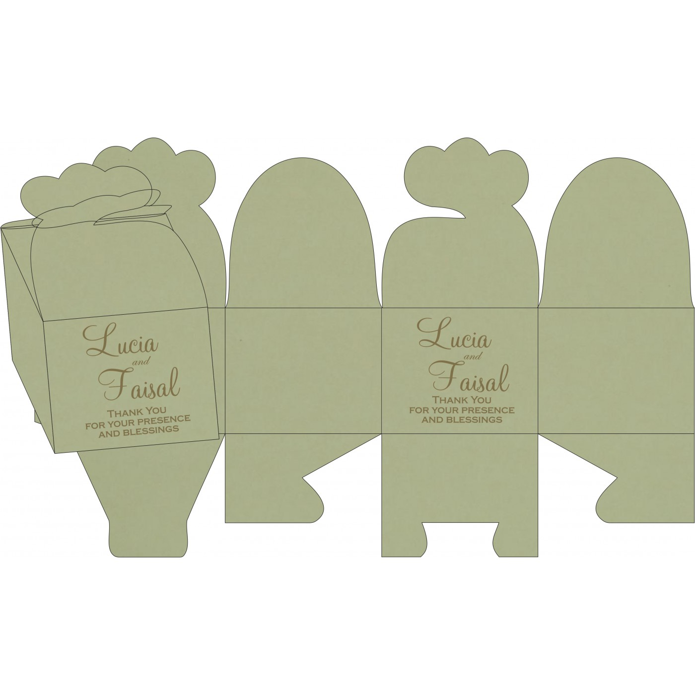 Sweet Boxes : CSB-8238K - IndianWeddingCards