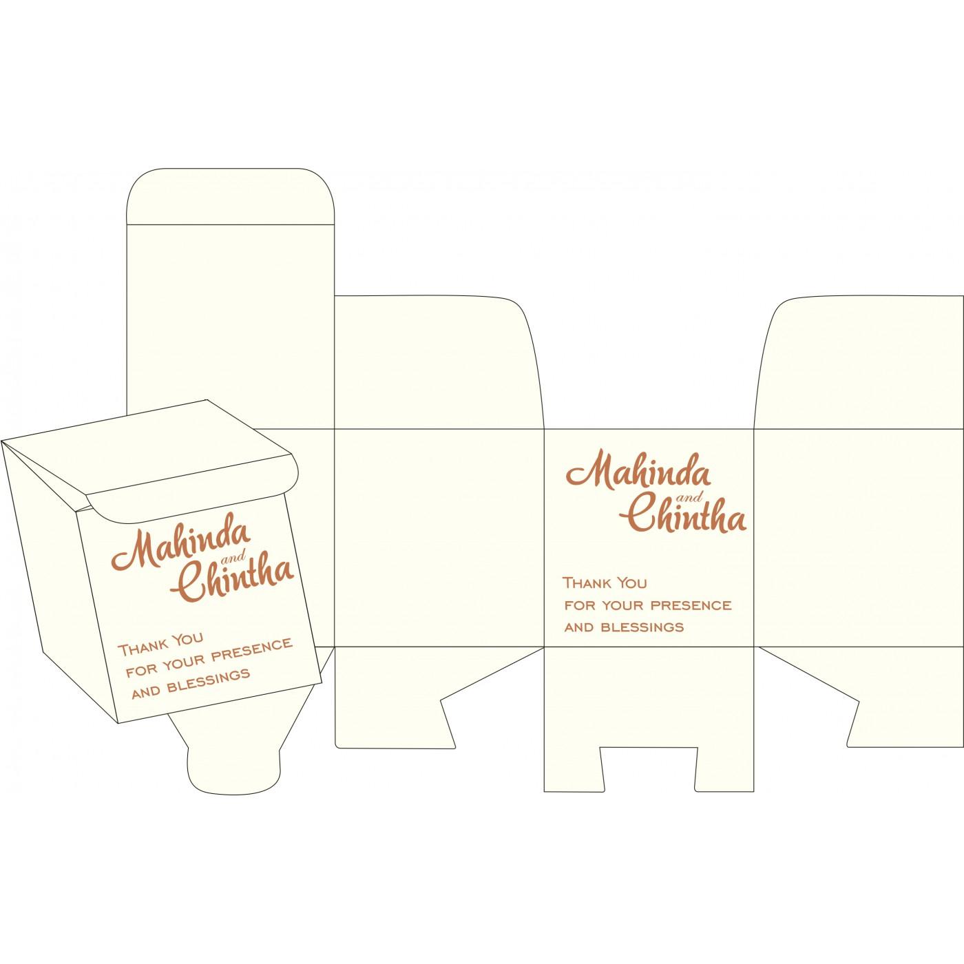 Sweet Boxes : CSB-8239I - IndianWeddingCards