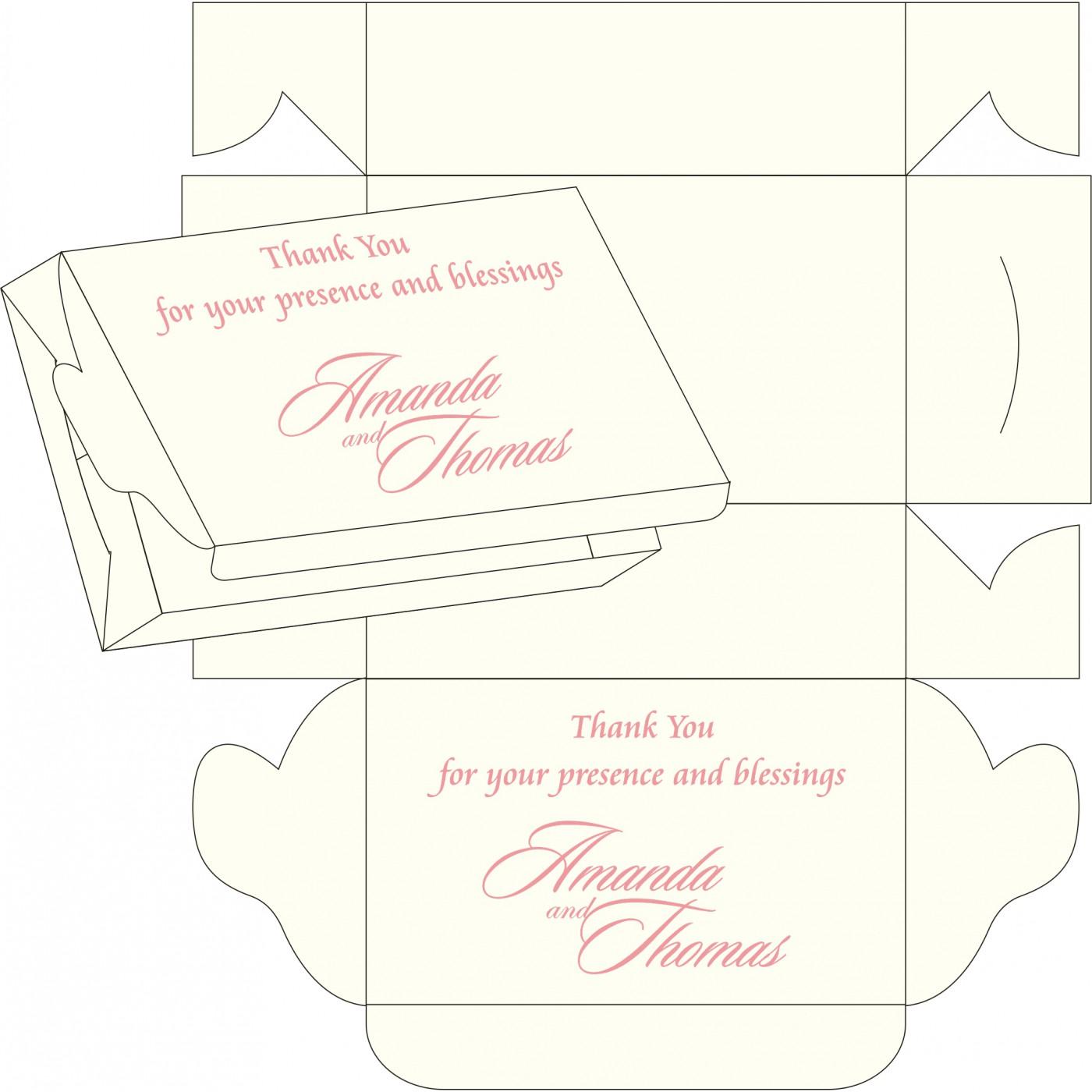 Sweet Boxes : CSB-8240G - IndianWeddingCards