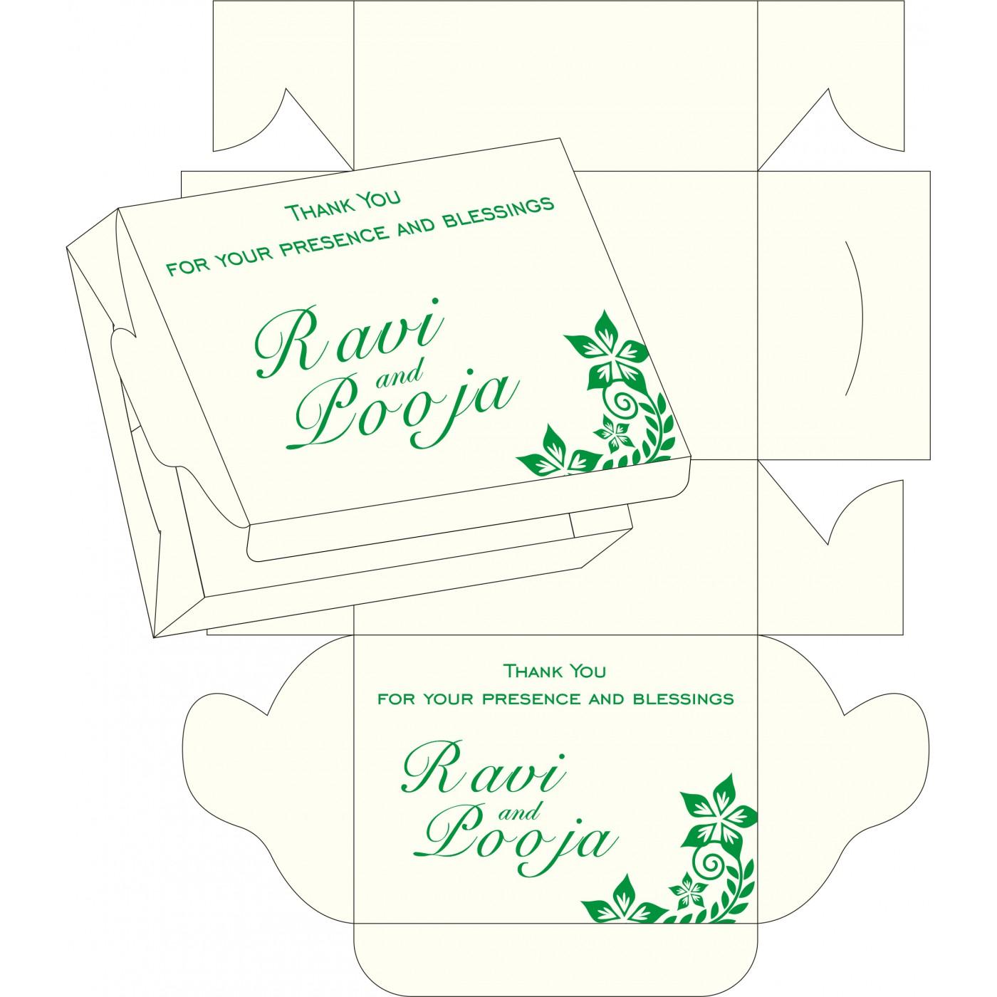 Sweet Boxes : CSB-8240I - IndianWeddingCards