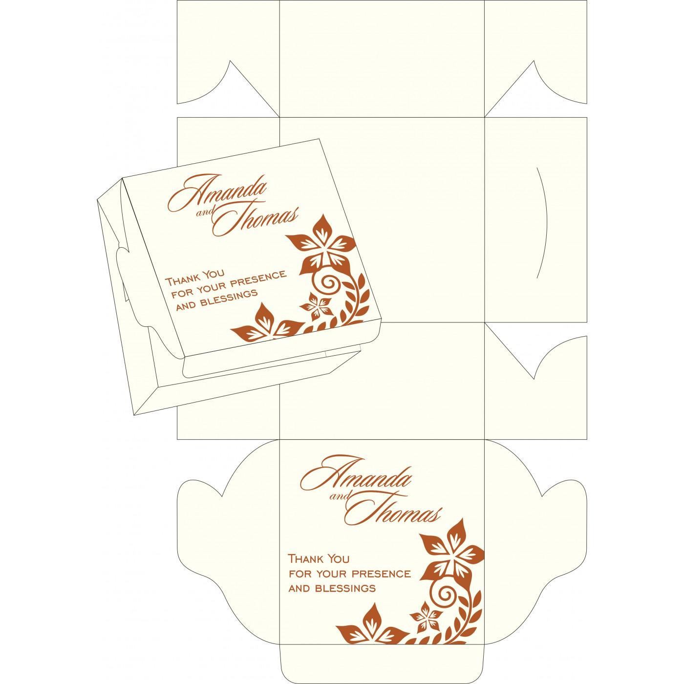 Sweet Boxes : CSB-8240M - IndianWeddingCards