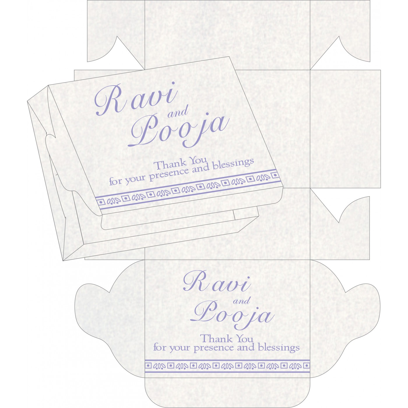 Sweet Boxes : CSB-8241D - IndianWeddingCards