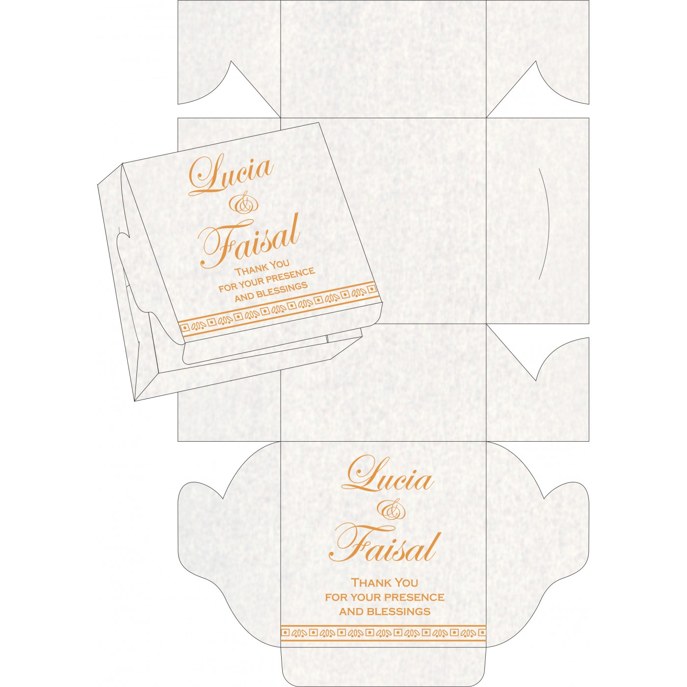 Sweet Boxes : CSB-8241H - IndianWeddingCards