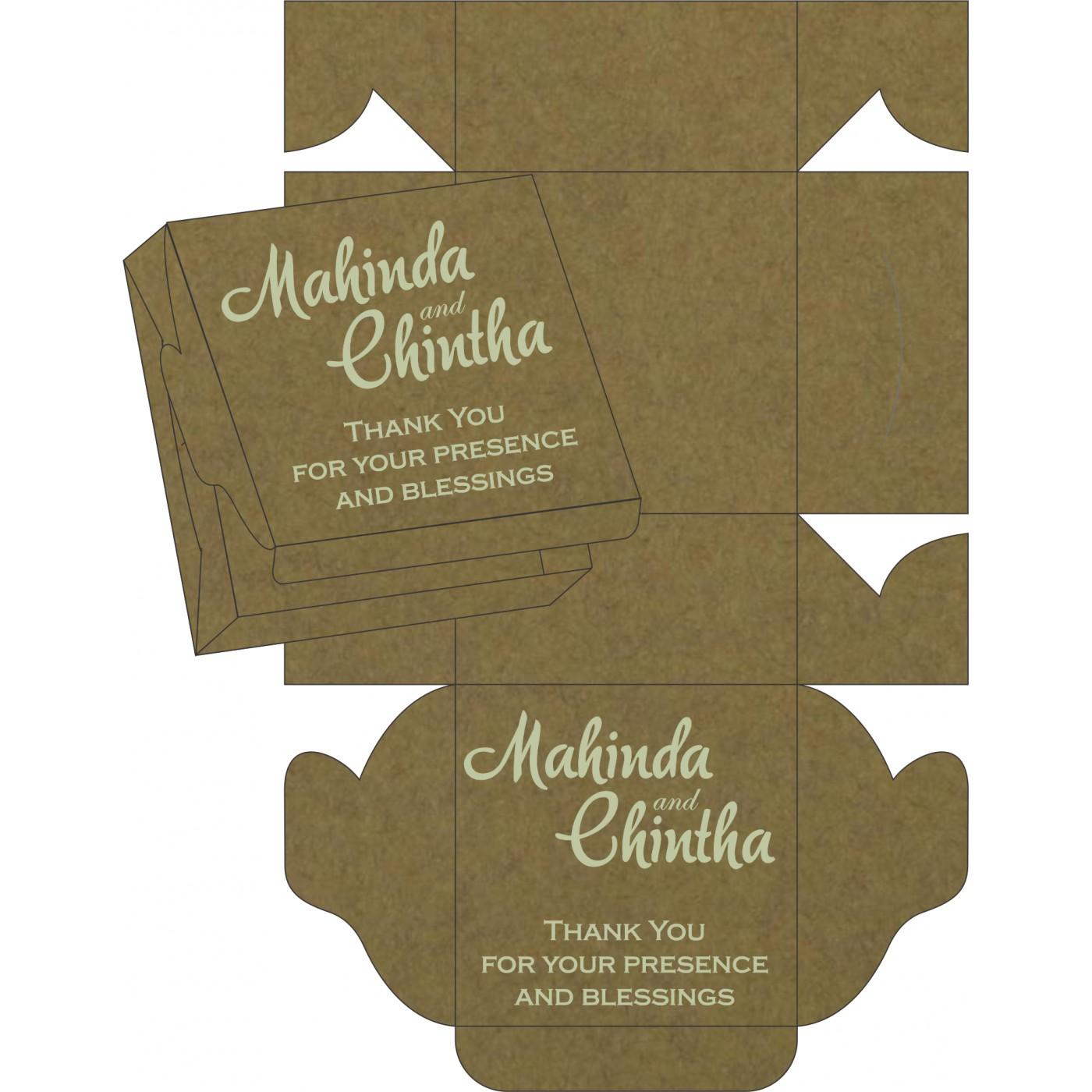 Sweet Boxes : CSB-8247E - IndianWeddingCards