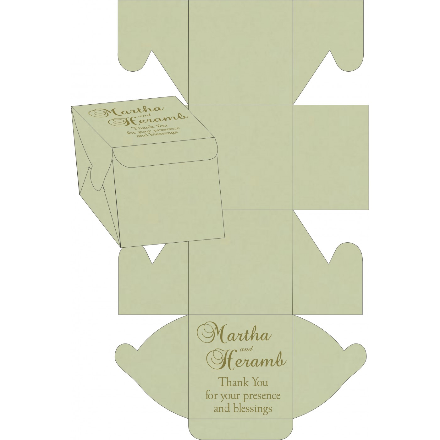 Sweet Boxes : CSB-8247L - IndianWeddingCards