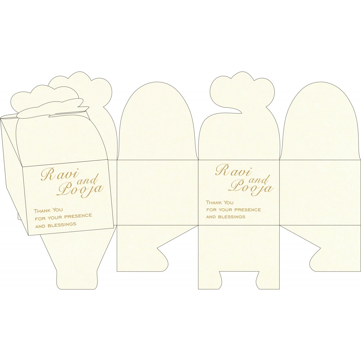 Sweet Boxes : CSB-8248D - IndianWeddingCards