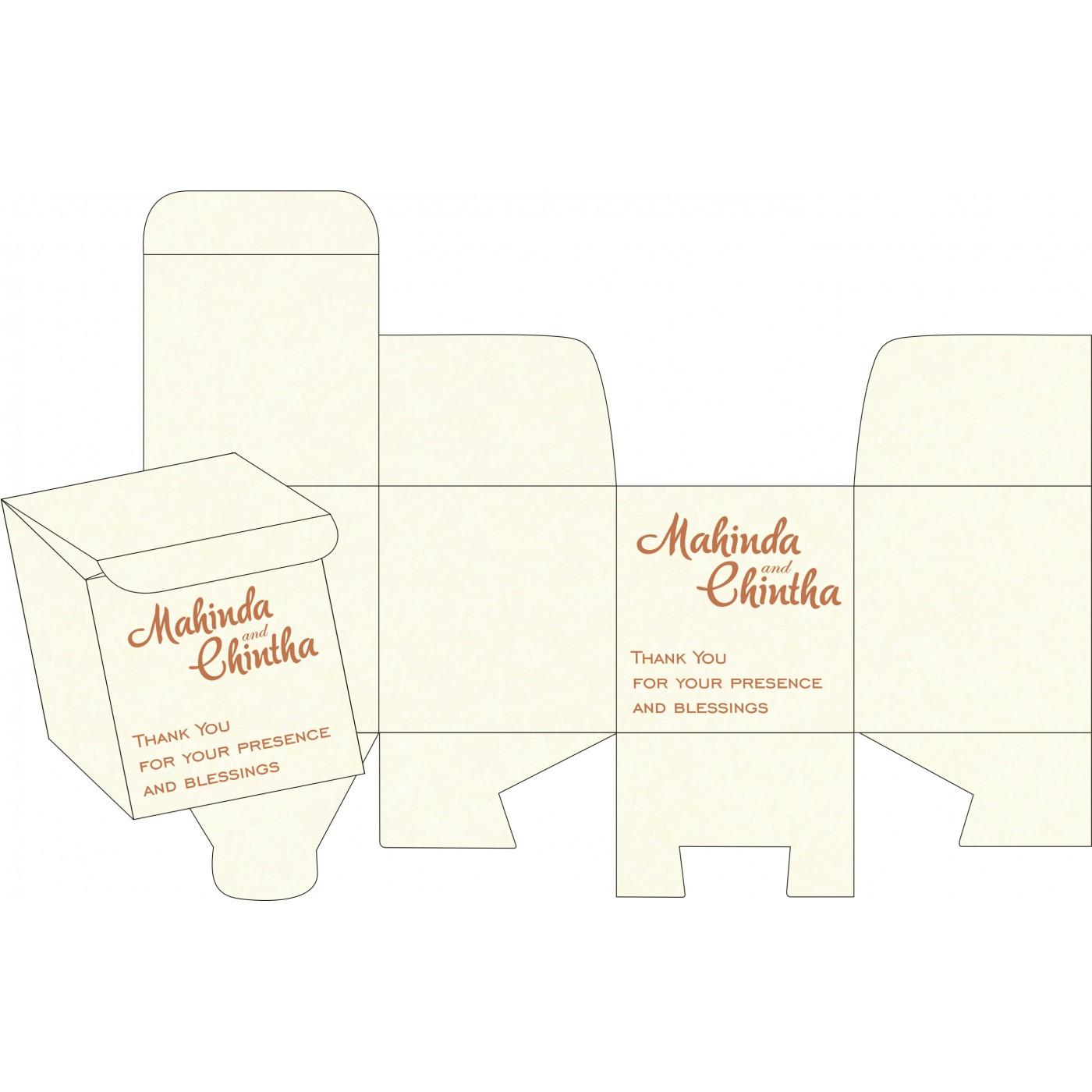 Sweet Boxes : CSB-8248E - IndianWeddingCards