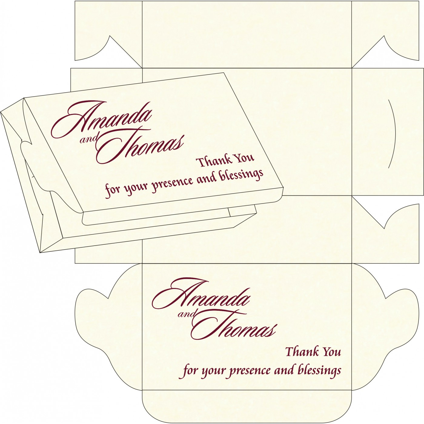 Sweet Boxes : CSB-8248H - IndianWeddingCards