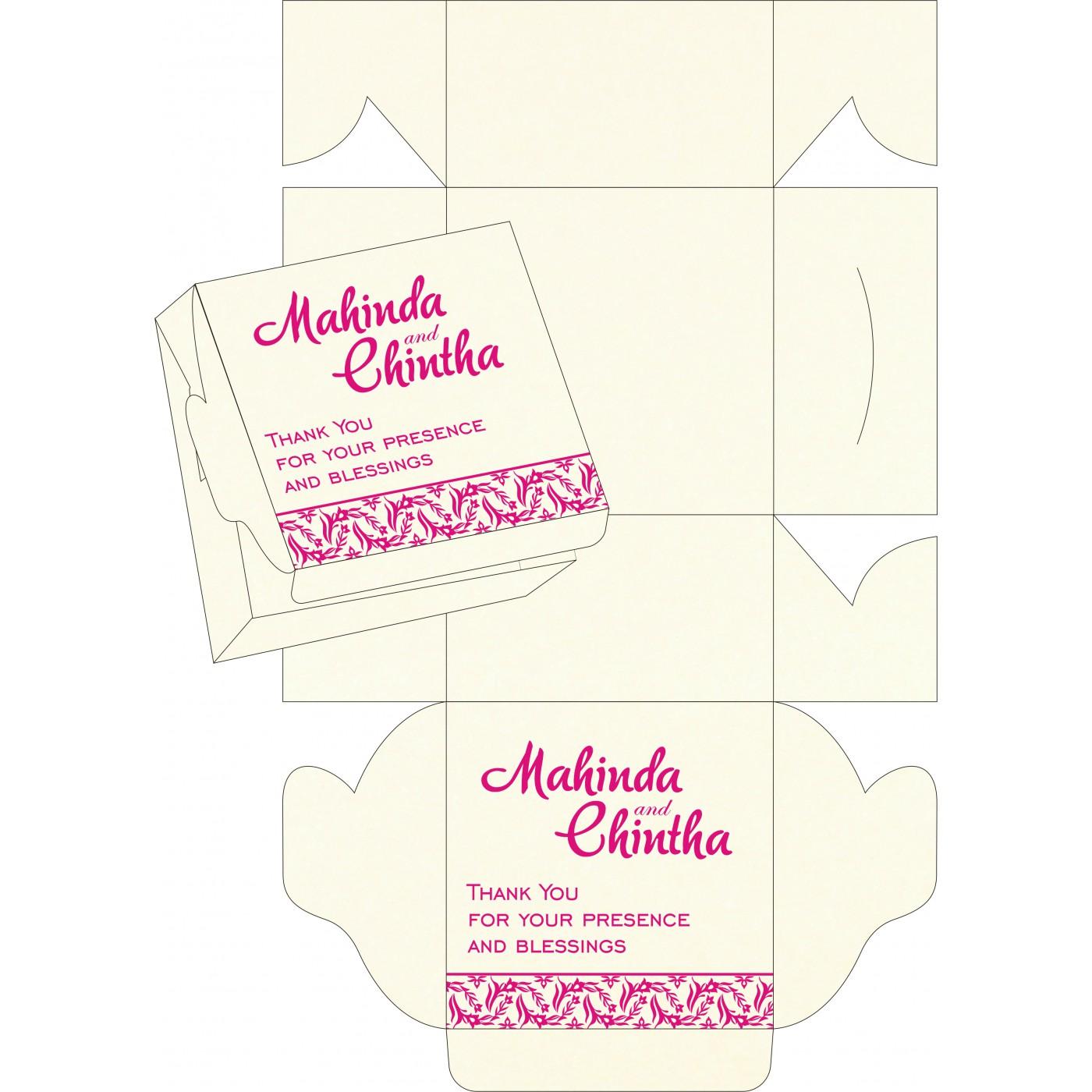 Sweet Boxes : CSB-8249K - IndianWeddingCards
