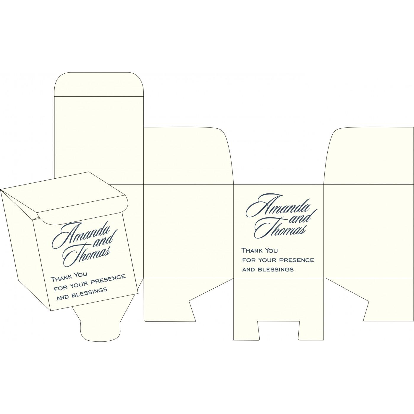 Sweet Boxes : CSB-8250E - IndianWeddingCards
