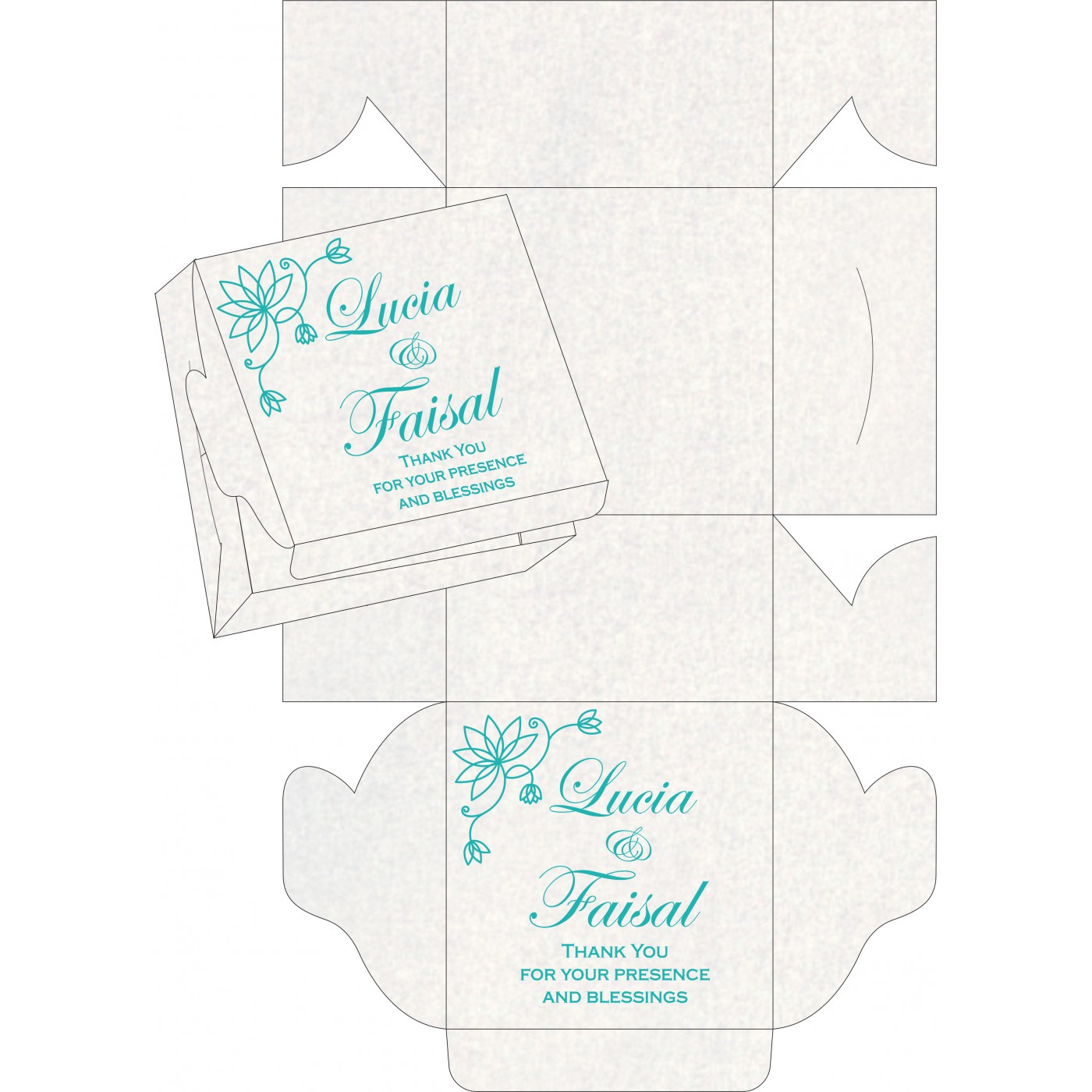 Sweet Boxes : CSB-8251A - IndianWeddingCards