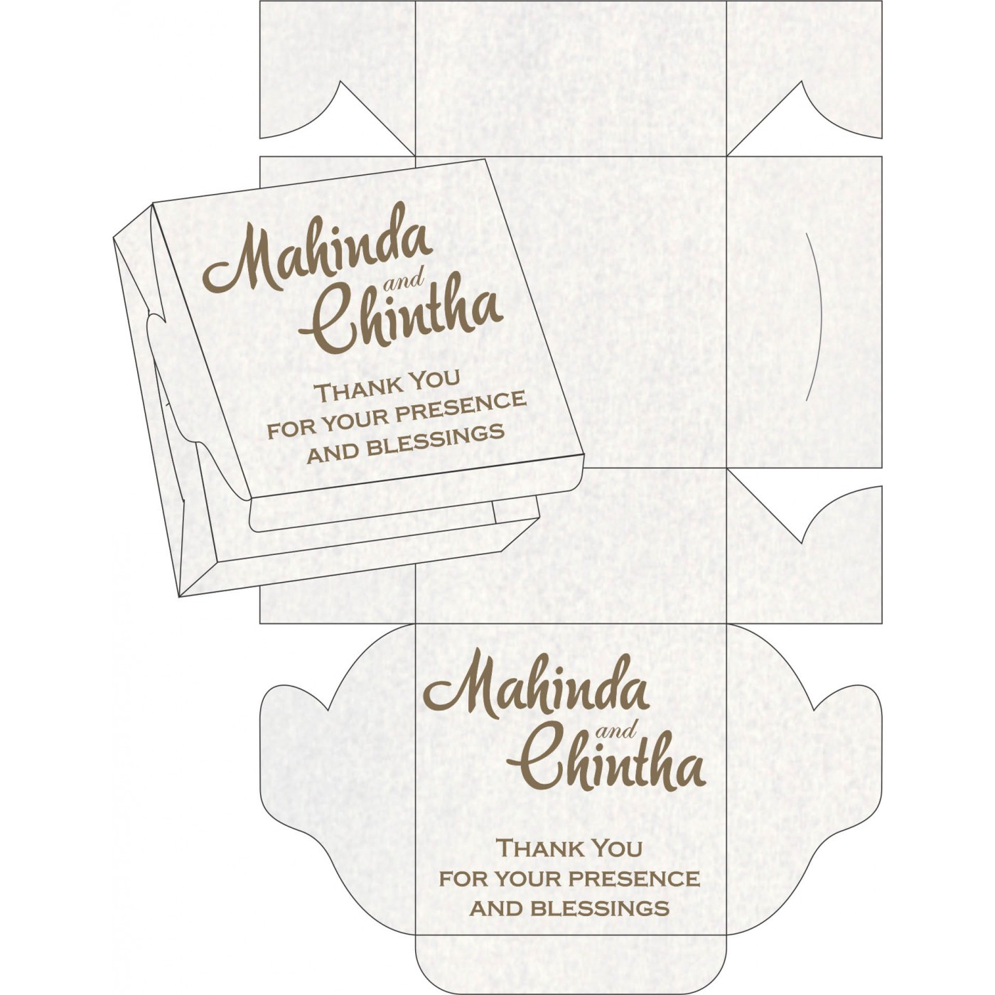 Sweet Boxes : CSB-8251F - IndianWeddingCards