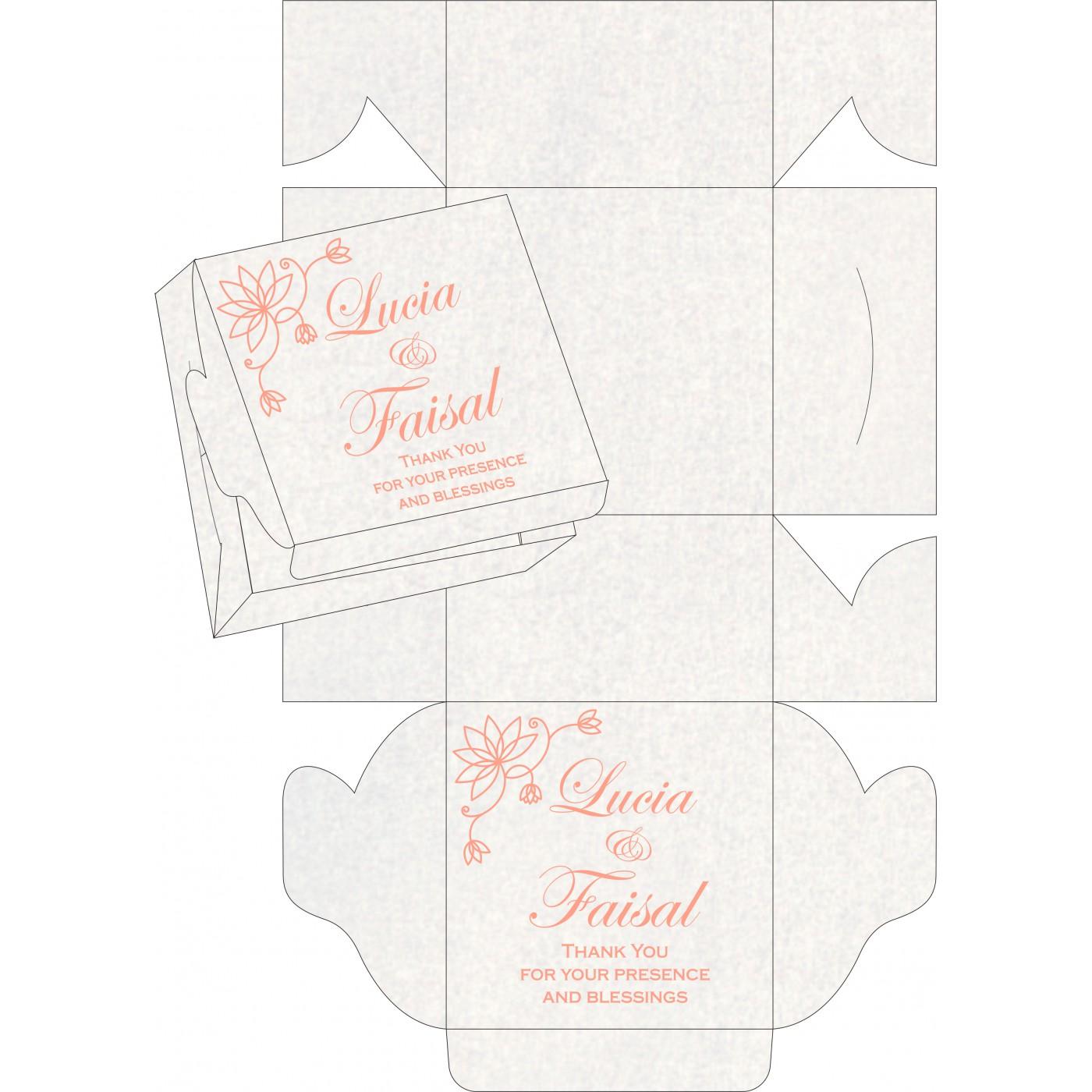Sweet Boxes : CSB-8251I - IndianWeddingCards