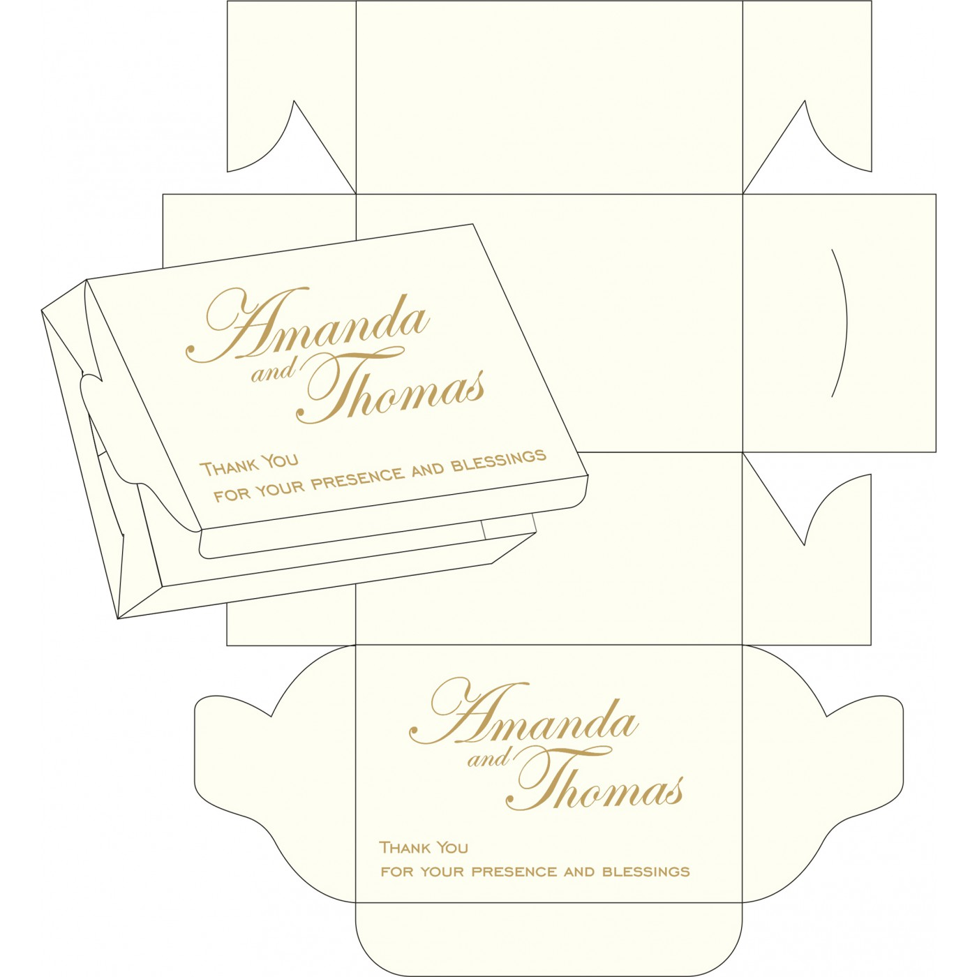 Sweet Boxes : CSB-8252A - IndianWeddingCards