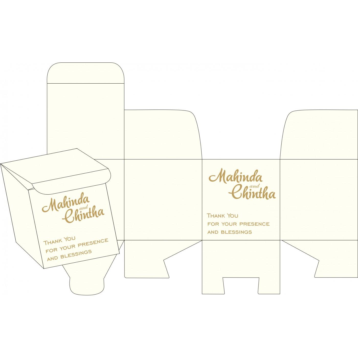 Sweet Boxes : CSB-8252E - IndianWeddingCards