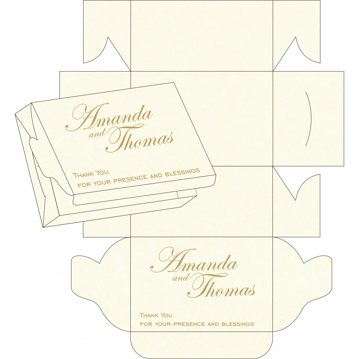 Sweet Boxes : CSB-8254A - IndianWeddingCards