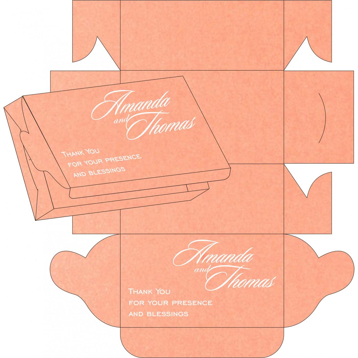 Sweet Boxes : CSB-8254G - IndianWeddingCards