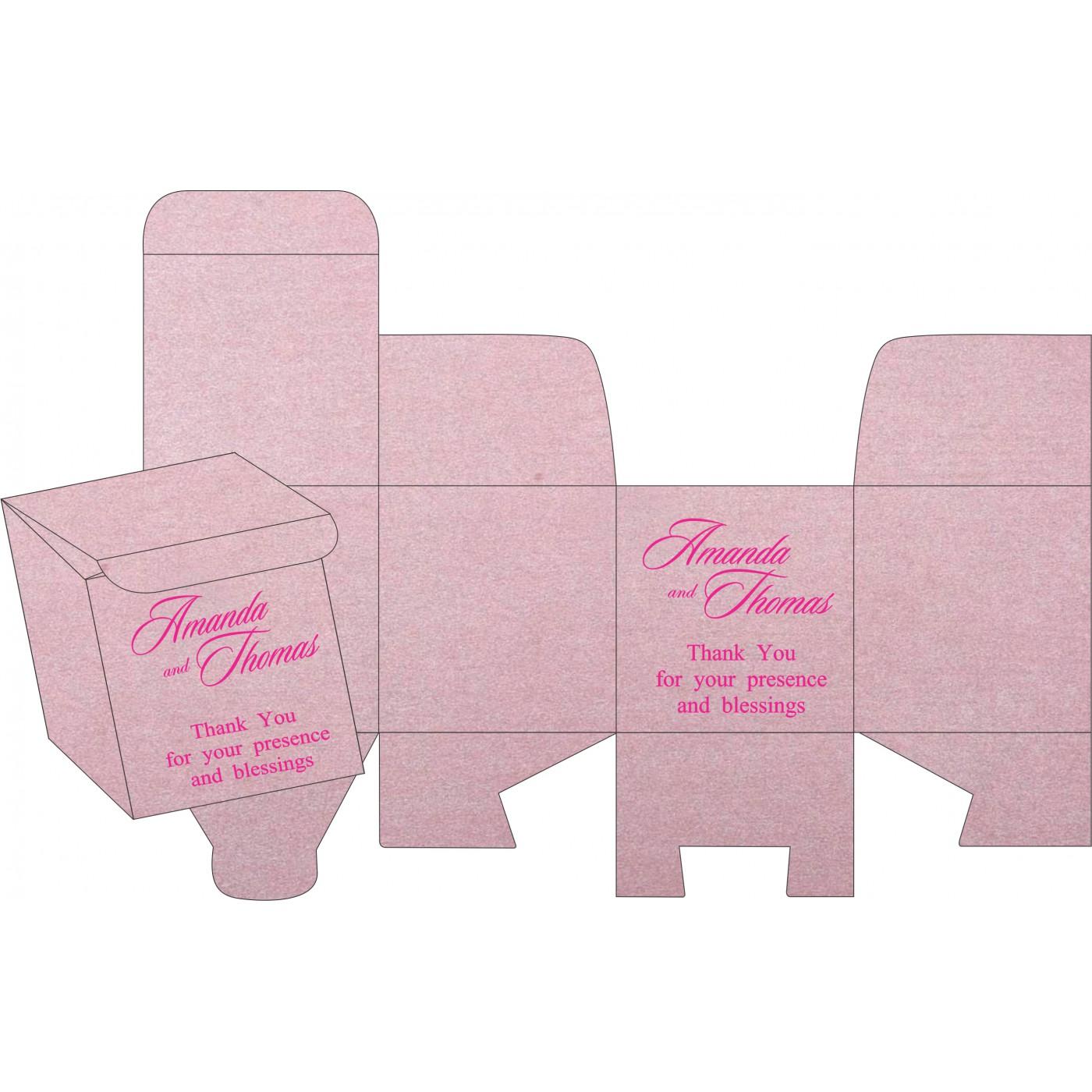 Sweet Boxes : CSB-8255F - IndianWeddingCards