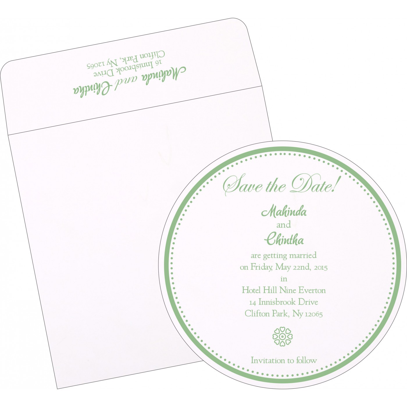 Save The Date : CSTD-1266 - IndianWeddingCards