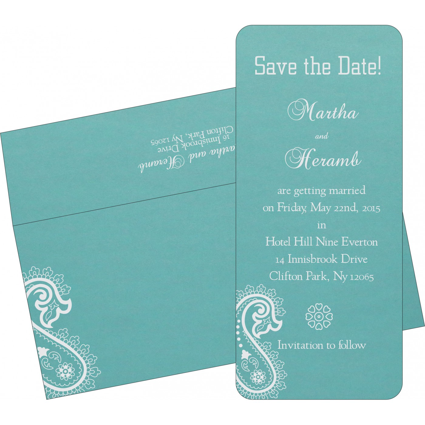 Save The Date : CSTD-1382 - IndianWeddingCards
