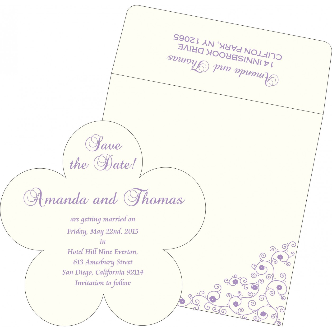 Save The Date : CSTD-1431 - IndianWeddingCards
