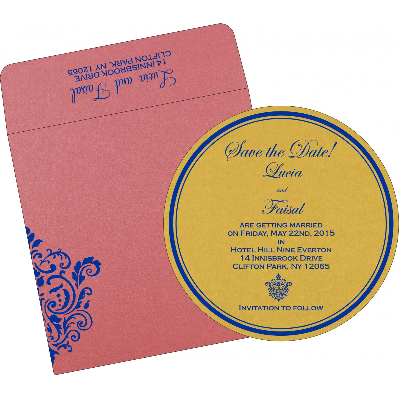 Save The Date : CSTD-1503 - IndianWeddingCards