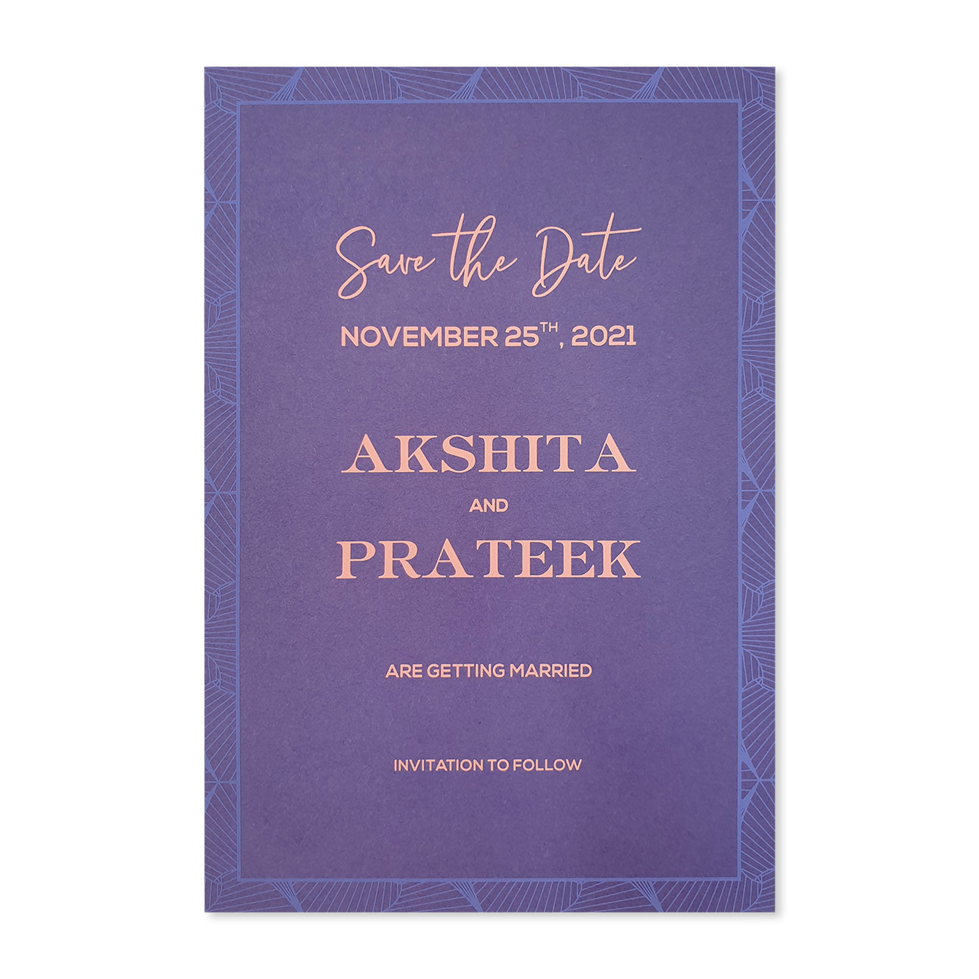Save The Date : CSTD-3D_ABSTRACT - IndianWeddingCards