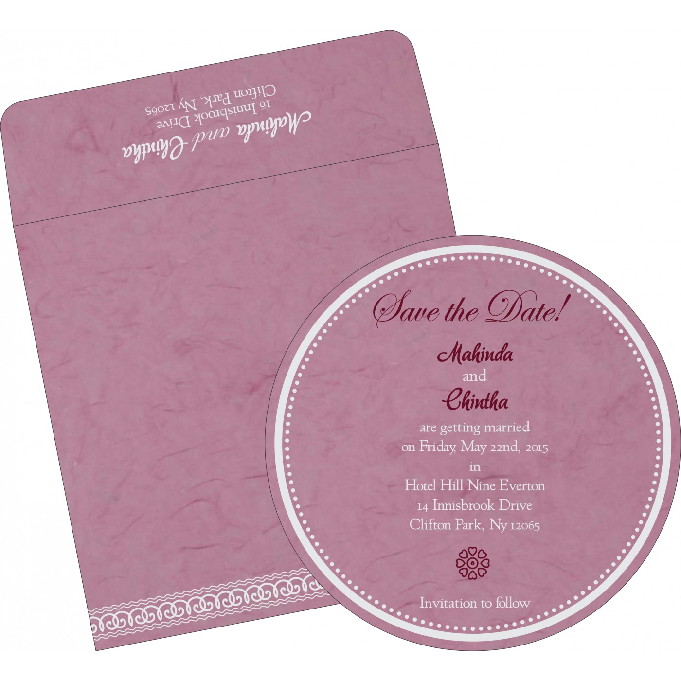 Save The Date : CSTD-5002E - IndianWeddingCards