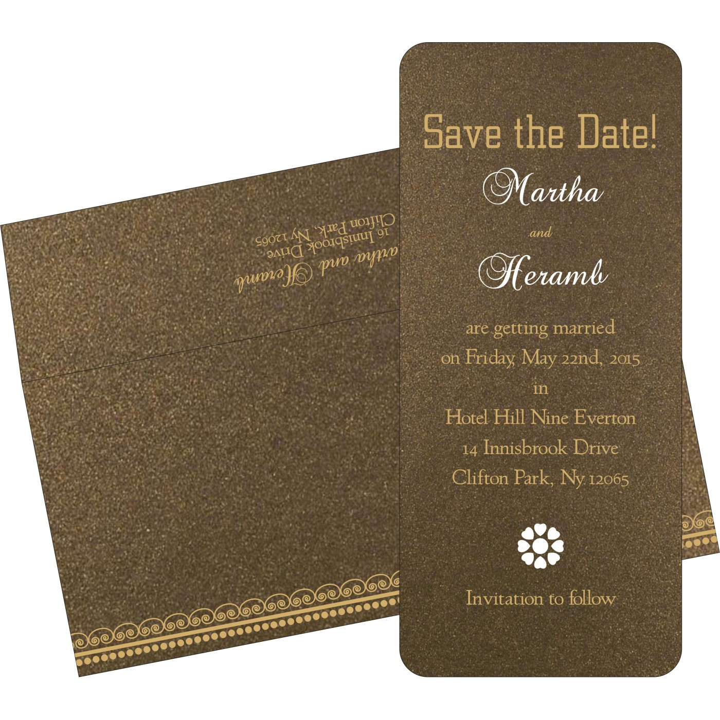 Save The Date : CSTD-5009C - IndianWeddingCards