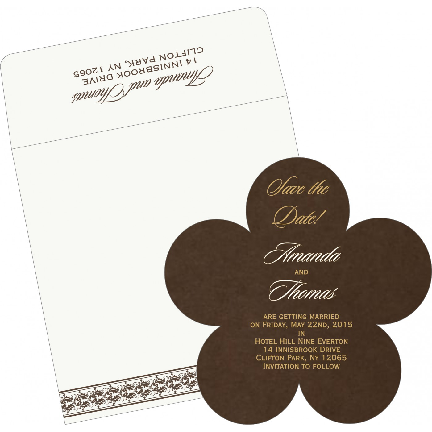 Save The Date : CSTD-5010G - IndianWeddingCards
