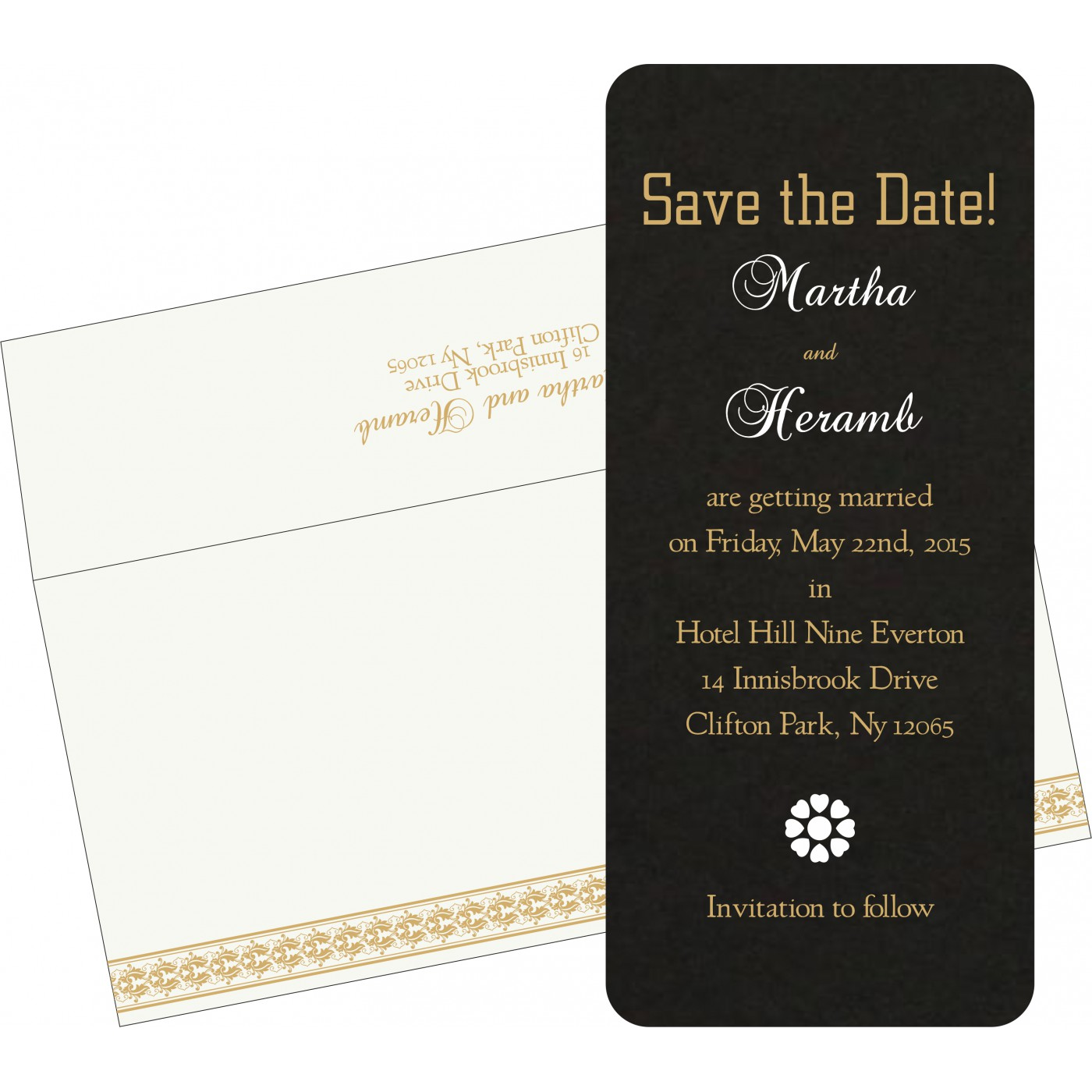 Save The Date : CSTD-5010H - IndianWeddingCards