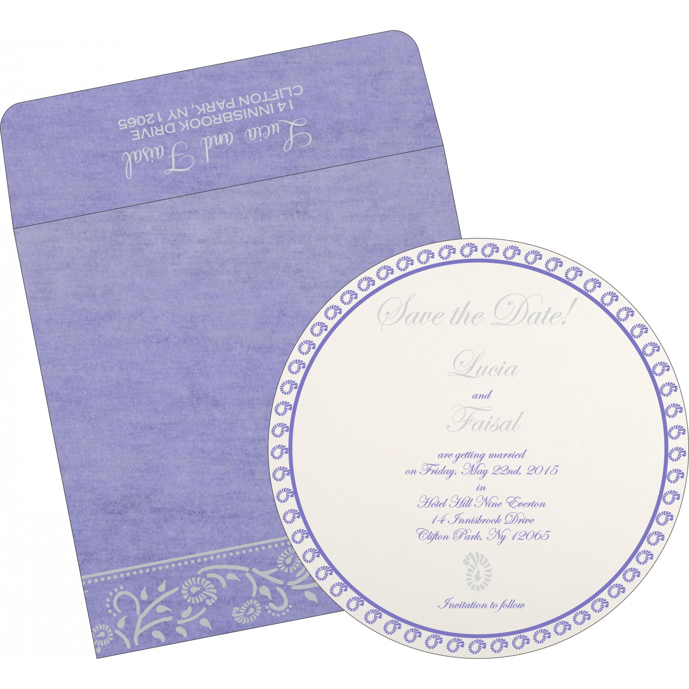 Save The Date : CSTD-8206A - IndianWeddingCards