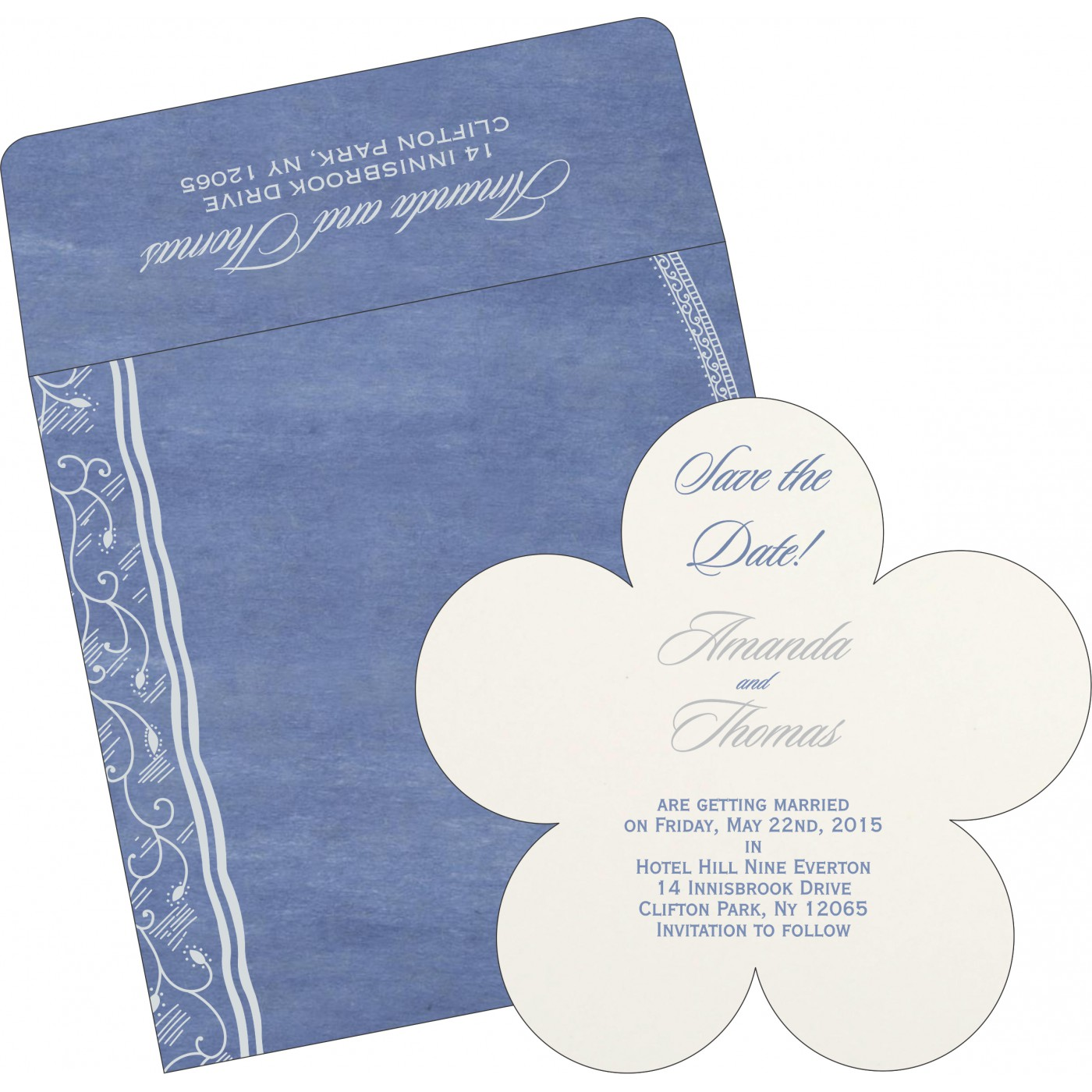 Save The Date : CSTD-8210H - IndianWeddingCards
