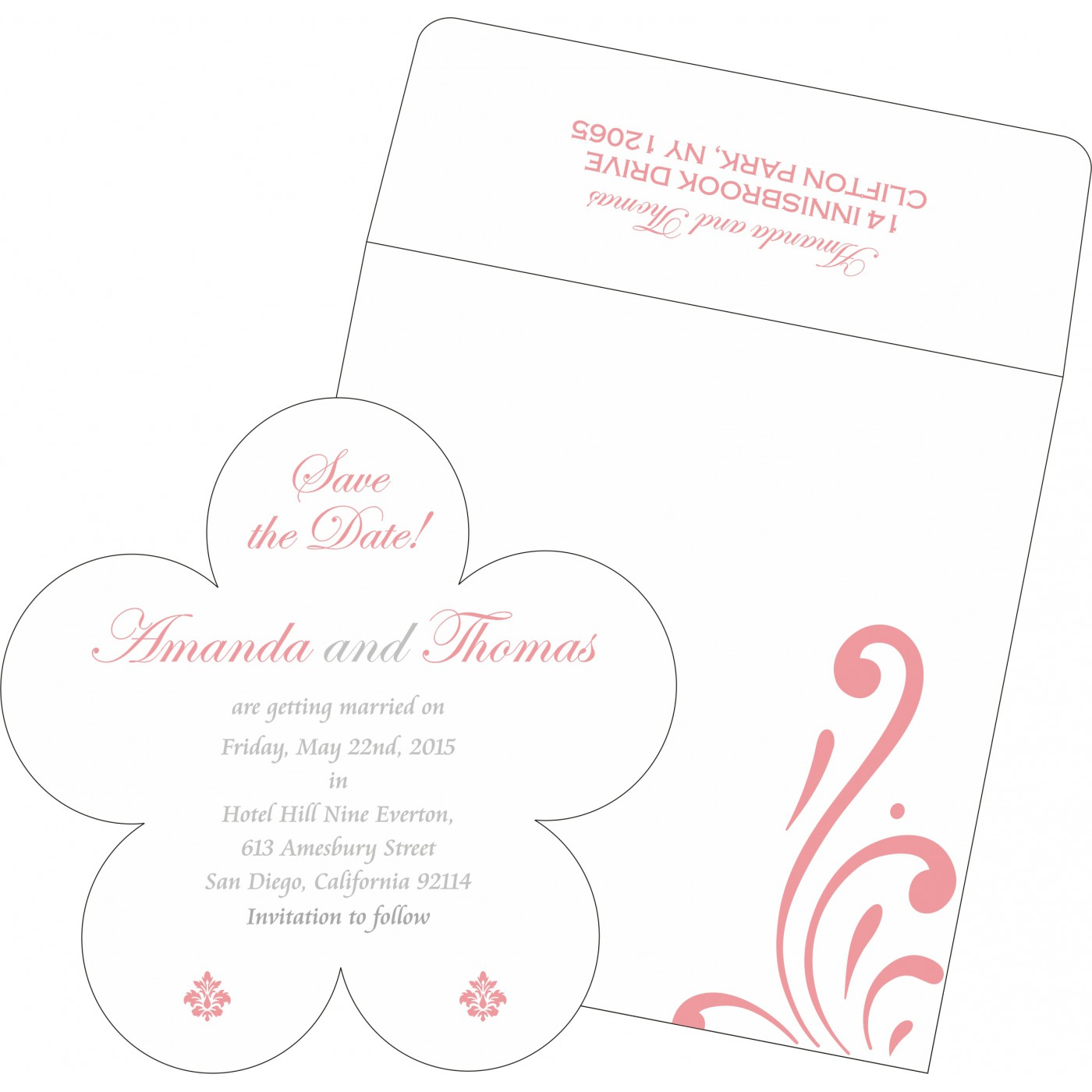 Save The Date : CSTD-8223N - IndianWeddingCards