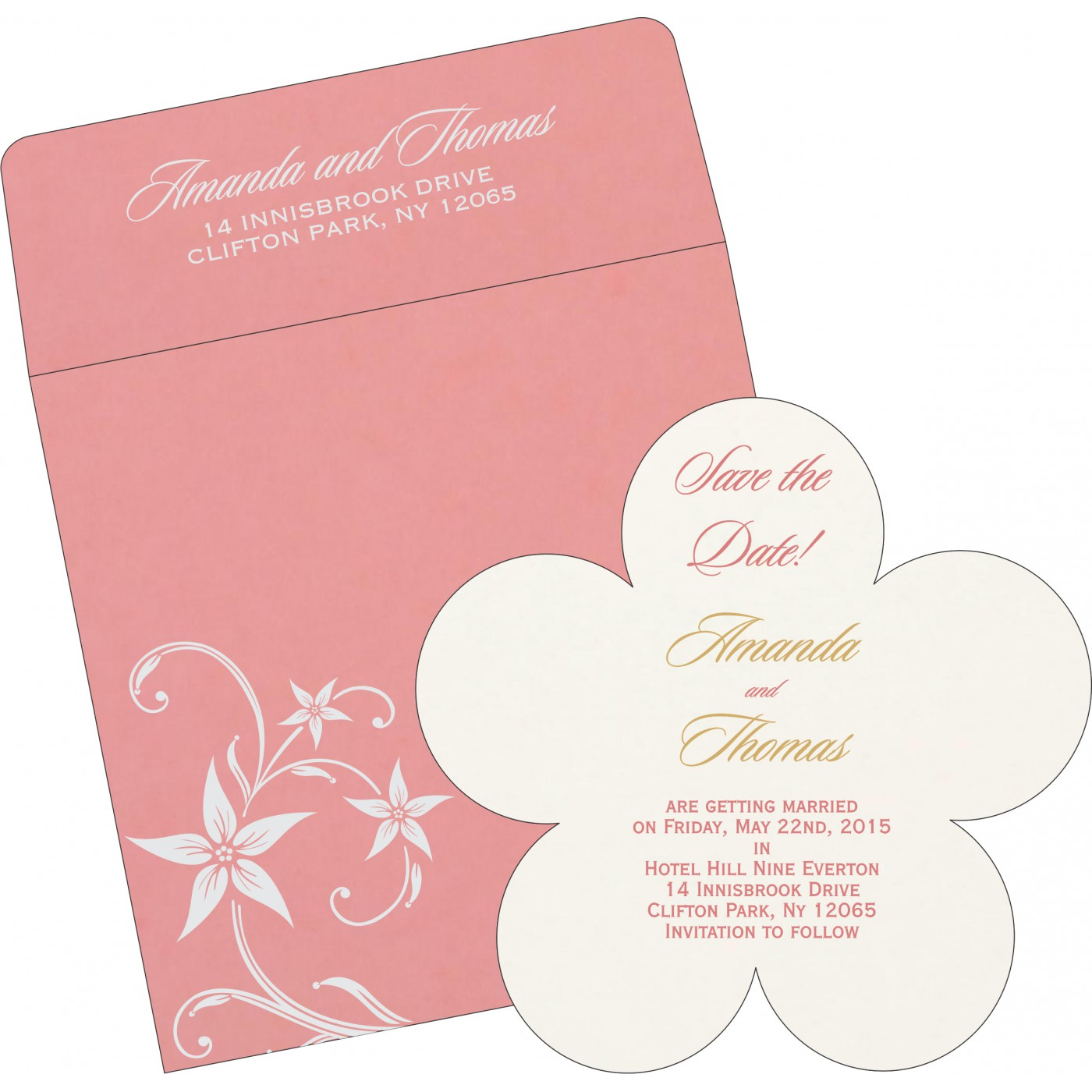 Save The Date : CSTD-8225M - IndianWeddingCards