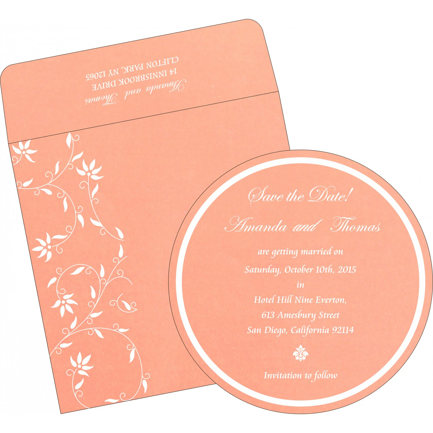 Save The Date : CSTD-8226K - IndianWeddingCards