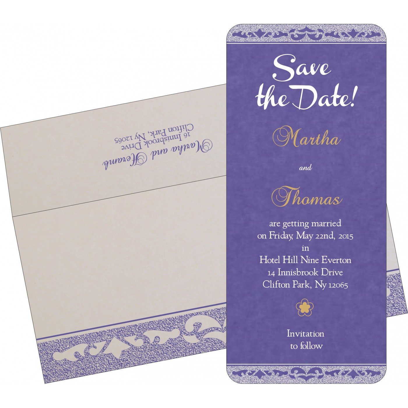 Save The Date : CSTD-8227E - IndianWeddingCards