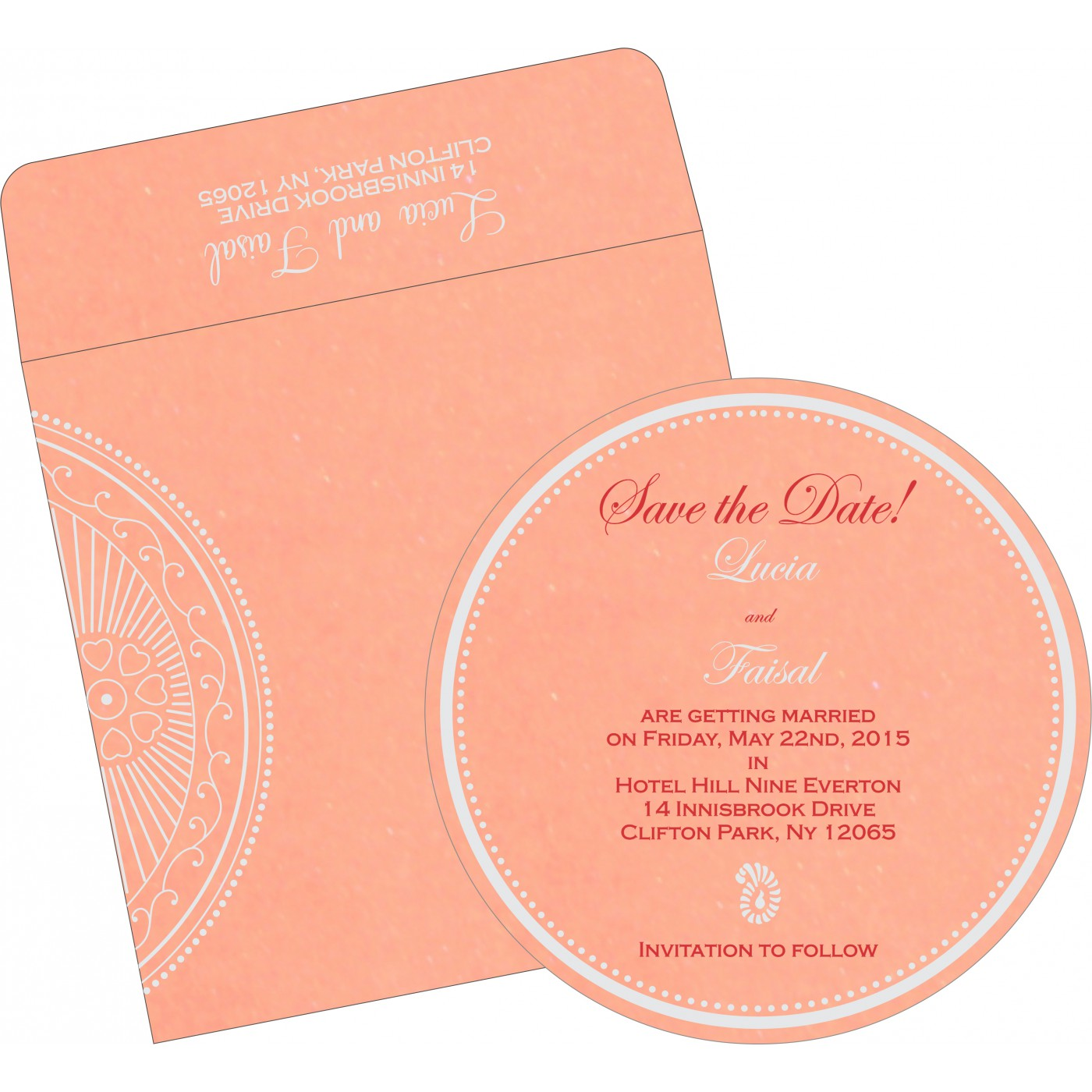 Save The Date : CSTD-8230A - IndianWeddingCards