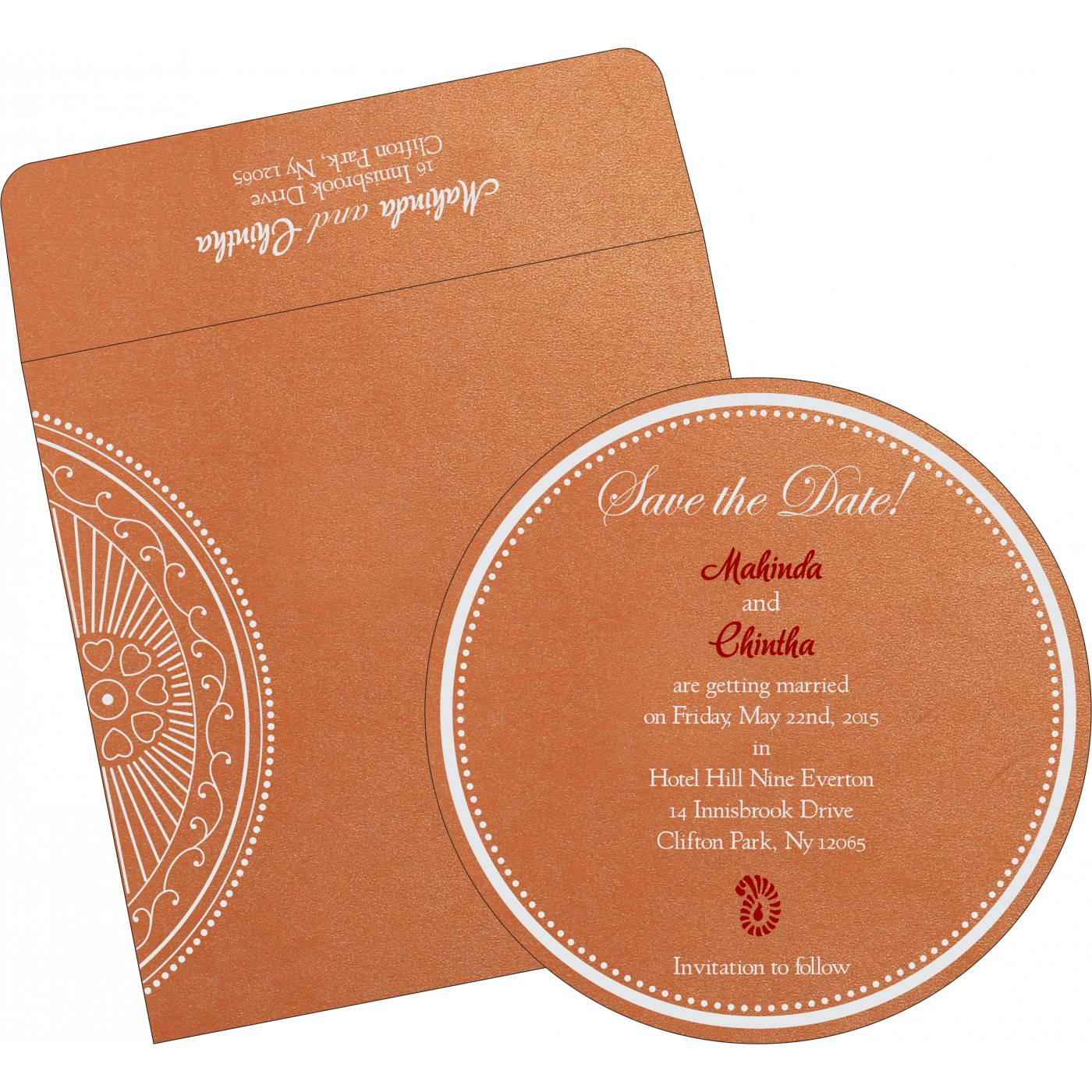 Save The Date : CSTD-8230T - IndianWeddingCards