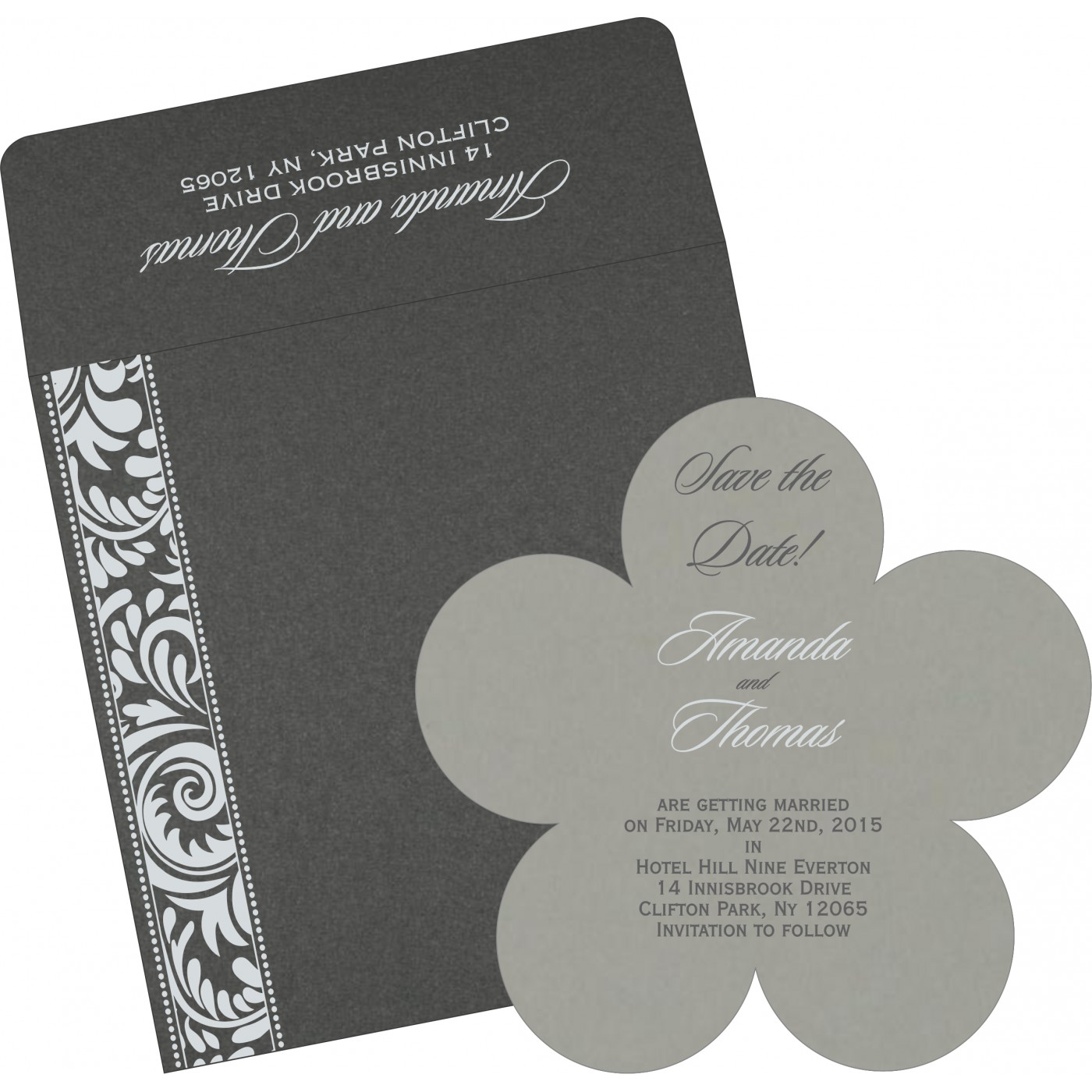Save The Date : CSTD-8235I - IndianWeddingCards