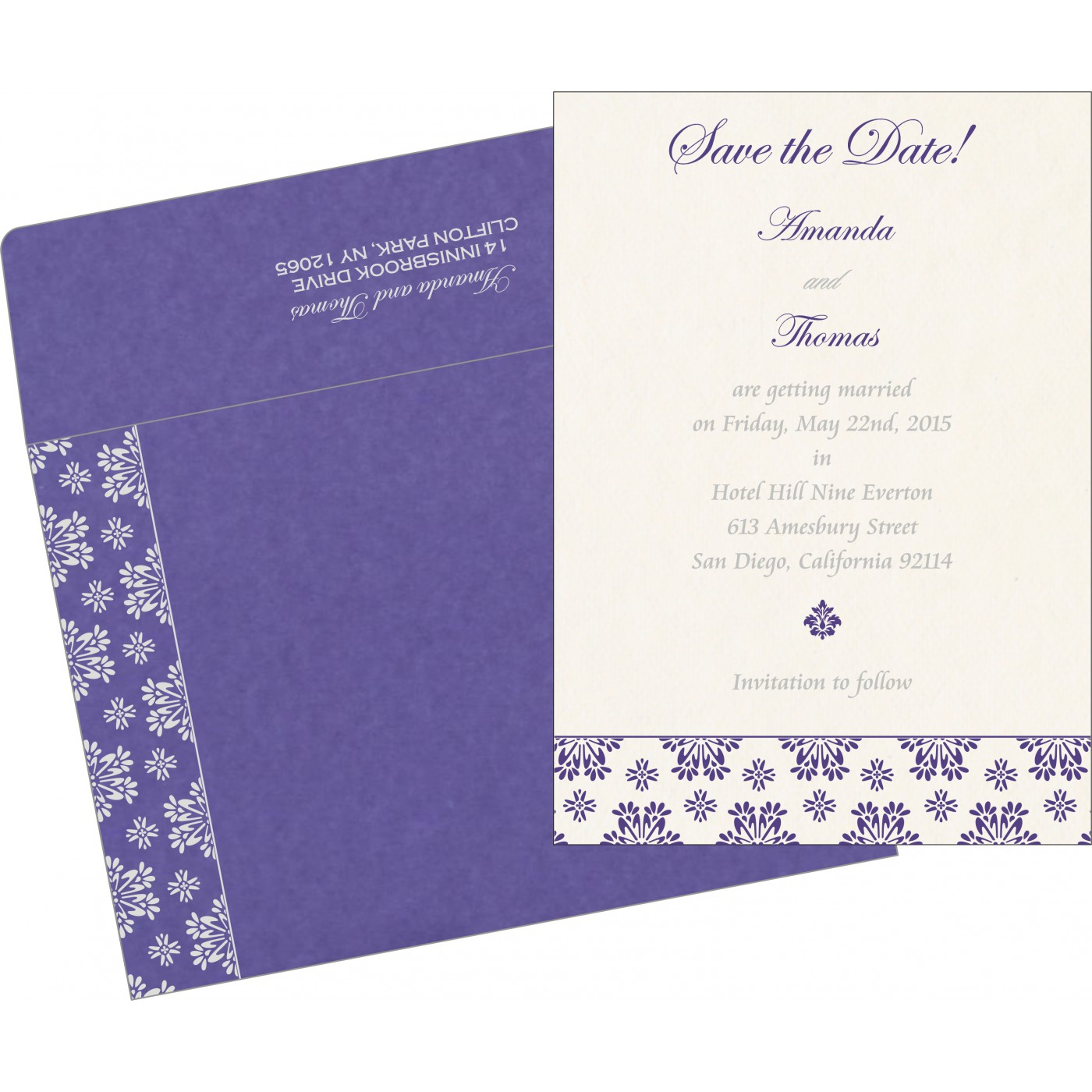 Save The Date : CSTD-8237A - IndianWeddingCards