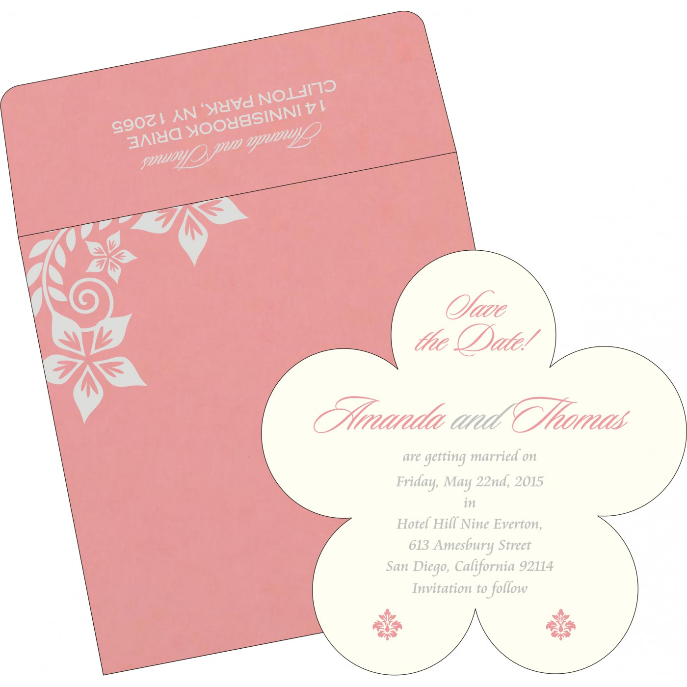 Save The Date : CSTD-8240G - IndianWeddingCards