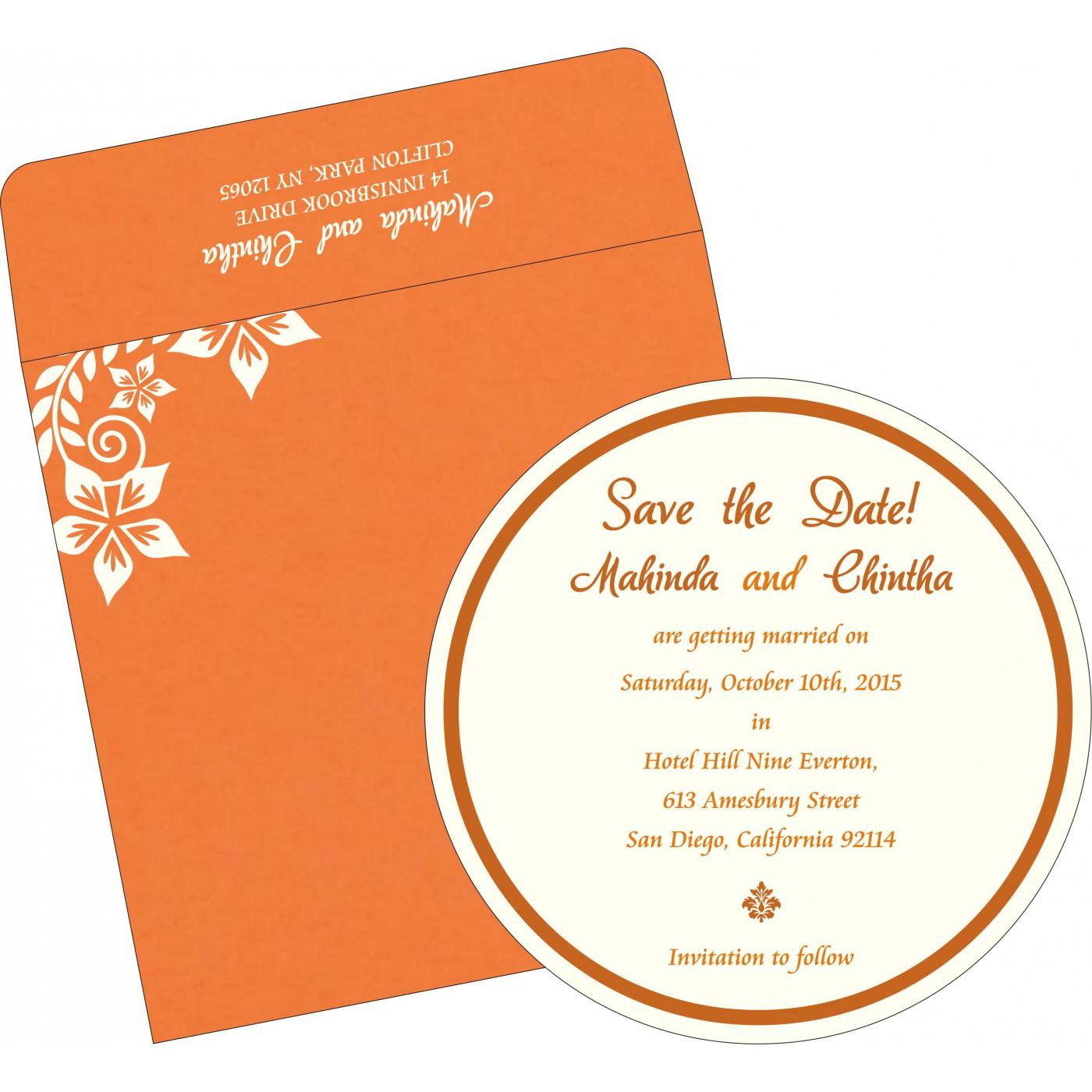 Save The Date : CSTD-8240K - IndianWeddingCards